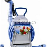 garretractable air hose reel swivel joints self-retracting garden auto roll-up hose reel