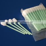 Factory directly sell star shape sterile oral swab, foam tipped oral swabs,sponge cleanroom swab