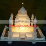 Beautiful Marble Taj Mahal Replica