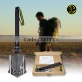 Auto Accessory Cross Country Vehicle Hi-carbon Steel Shovel Head Garden Shovel Outdoor Shovel Dig Hoe Hammer Cut Flint