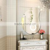 Aluminum Frame CE Hotel Modern Vanity LED Mirror Bathroom Mirror With Light