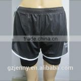 Wholesale Men Sports Short Shorts Black Short Pants Plus Size Running Clothing