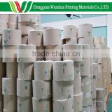 White/brown 100gsm double sided crepe paper, 300 meters per roll