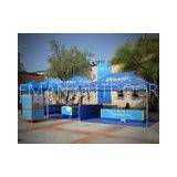 Customized Foldable Outdoor Party Canopy Tent For Exhibition / Instant Shelter