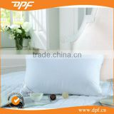 Poly cotton hollow fiber filling 800g double stitch hotel pillow
