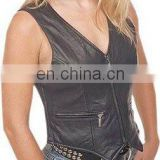 Leather Vest Art No: 1342