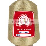 Quality metallic knitted elastic