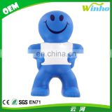 Winho Funny Stress Ball Pink Captain Smiley Stress Ball