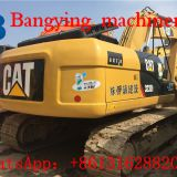used CAT 323D2 cralwer excavator