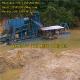 River Dredging Equipment Bucket Chain Gold Dredger 200 Cubic Meters Heavy Duty