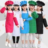 Children's apron painting and drawing clothes