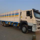 CHINA Sinotruk Howo 6x4 371hp Cargo Truck with 12 R24 Tyres factory supply best price for Sale in Hargeisa, Somaliland