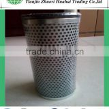Cargo marine hydraulic oil filter element ,High dirt capacity cartridge structure