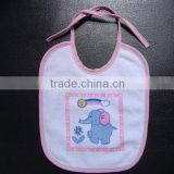 Cute disposable cheap baby bibs
