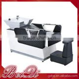 Modern European style used salon shampoo chair,beauty hair dressing washi basins shampoo bed
