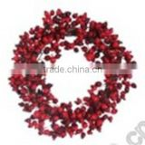 Newest Christmas Wreath with led light for Christmas Decoration Supply Items