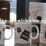 Customize ceramic mugs and cups with full decal for Promotion                                                                         Quality Choice