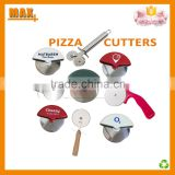 "Max+ Wholesale 3"" Stainless Steel Blade Pizza Cutter                                                                         Quality Choice"