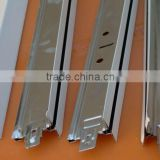 Metal Ceiling T- Ceiling 32x24x0.3mm system Plane Grooved -BAR/T-GRID 32H galvanized steel ceiling t-grid for ceili