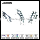 AURON/HEATWELL Outdoor heavy stainless steel calbe bracket bridge/ heavy electric wire vetical stair/ power cable ladder tray