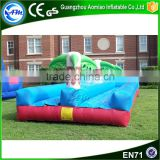 Commercial inflatable backyard water slip n slide for adult