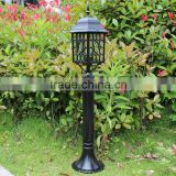 2016 Fasion Lawn lamp, Waterproof led lawn gate post pillar lamp for outdoor solar garden decoration light