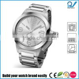 Build your watch brand easily stainless steel man japan movement quartz watch sr626sw big case