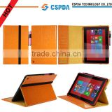 For Nokia Lumia 2520 tablet stand leather case with card slots