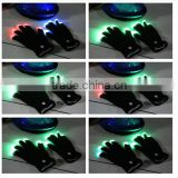 Raver Blacked Out led gloves LED 7 Colors Light Show