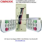 Omnixk for wooden furniture in fitness center durable electronic smart digital cabinet locks