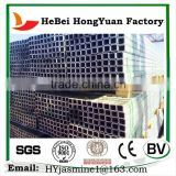 Manufactory HeBei HongYuan Galvanized Steel Pipe Rices Iron Pipe 6 meter