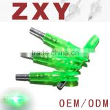 Fashionable Luminous LED Arrow Nocks for Sale,green