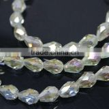 Teardrop shape crystal beads crystal beads wedding table decorations                                                                         Quality Choice