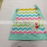 baby girls chevron pillowcase dress,girls easter bunny outfit