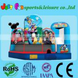 Inquiry About 5 n 1 inflatable combo for kids, inflatable castle slide combo