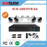 1.0MP/1.3MP Popular Sell 4channel DVR CCTV Kit Outdoor Nice White Housing AHD Kit Hybrid DIY School Bus CCTV System available