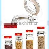 620ml Food Storage Dried Fruit Cookie Candy Scented Sealed Glass Storage Jar