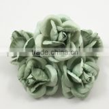 Sea Foam, Large Handmade Mulberry Paper Flower, Wedding Party, Scrap-booking Crafts