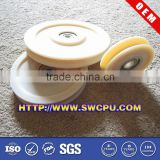 100mm plastic bearing cable pulley wheels
