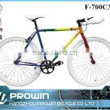 700C vintage Chinese wholesale fixie bike fixed gear bike/road bike for sale (PW-F700C303)