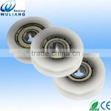 Particiality shower indusrial sliding shower door roller with Straight Pole bearing