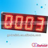 led plastic bar counter illuminated led bar counter particle counter