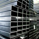 ASTM A50 Standard Welded Rectangle / Rectangular Steel Pipe / Tube for construction and structure