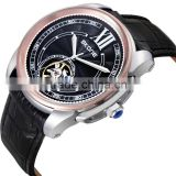 S80054 skone genuine leather strap mechanical watch wholesale no battery automatic watch