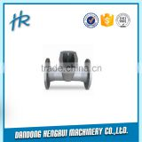 Steel Ball Valve Body, Made of Carbon Steel, Any treatment, Customized Drawings are Welcome