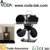 VODA eco stove fan ,heat powered stove top fan ,wood fireplace fan                                                                         Quality Choice