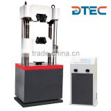 DTEC DE-600D Hydraulic Universal Testing Machine,600KN,Digital LED Displayer,Electro-hydraulic Servo Motor,Manufacturer Price