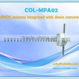 COL-MPA02 MMDS antenna integrated with down converter,audio video sender transmitter & receiver