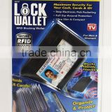 As Seen on TV Lock Wallet - RFID Blocking Wallets