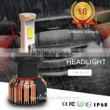 Super bright 48w canbus h1 h3 h7 h11 40w 12 volt 4600 lumen led car headlight bulb kit for motorcycle led head lamp
